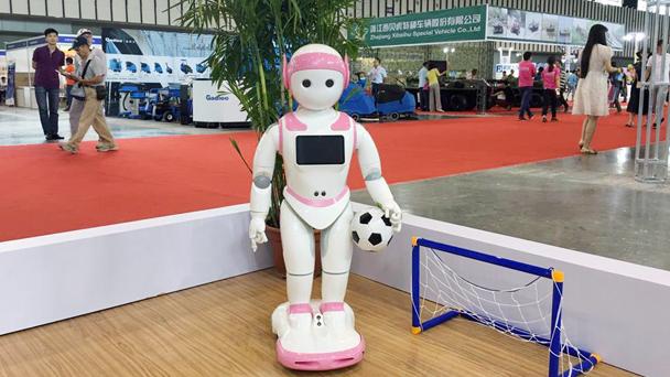 i宝™在中国国际服务机器人及智能产业展览会(SSR)上首秀新技能